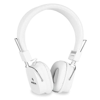 Auna Nightliner Ice • Auriculares inalámbricos Bluetooth • Micrófono • Batería integrada • Función Manos Libre
