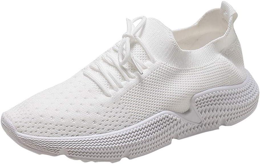 7 Reino Unido Color Liso 6 Zapatillas de Deporte para Mujer 8 5 TEELONG Talla 4