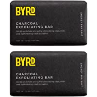 Activated Charcoal Exfoliating Bar 2 Pack