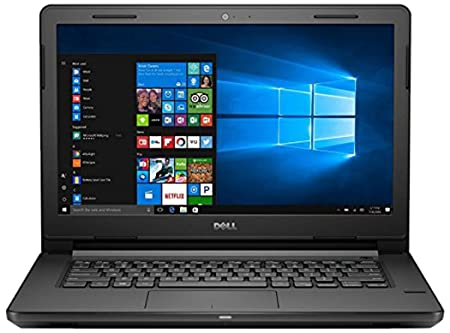 Dell Vostro 3468 14-inch Laptop (7th Gen i3/4GB/1TB/Windows 10/Integrated Graphics), Black with Pre-loaded with MS Office Home and Student version