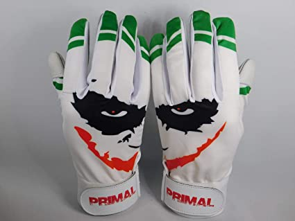 Adult Size XL Primal Baseball SMILEY Baseball Batting Gloves