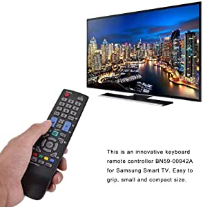 Pangding Control Remoto, reemplazo Smart TV Controlador de televisión con Control Remoto Compatible con Samsung BN59-00942A: Amazon.es: Electrónica