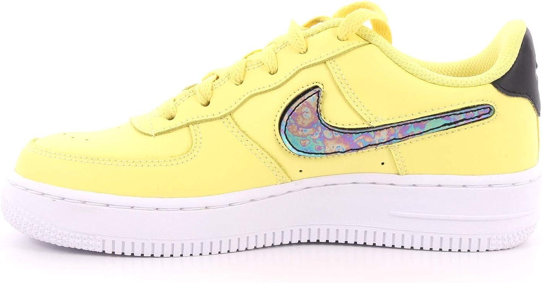 Nike Kinder Air Force 1 LV8 3 Sneaker Gelb: