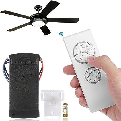 Womdee Kit de Mando a Distancia para Ventilador de Techo/lámpara ...