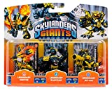 Skylanders Giants Legendary Ignitor , Legendary Slam Bam , Legendary Jet-Vac