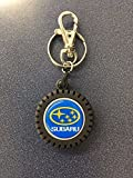 Subaru Gear TIRE Key Tag Keyring Key Chain Genuine