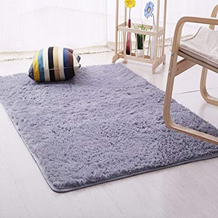 DODOING Modern Living Room Carpet Bedroom Rug Shag Area Rugs Floor Mat Carpets For Home Decor40cmx40cm4040x4040 Inch Delectable Carpets For Bedroom