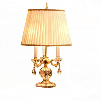 TABLE LAMP Lámpara de mesa Lámpara de cristal Dormitorio ...
