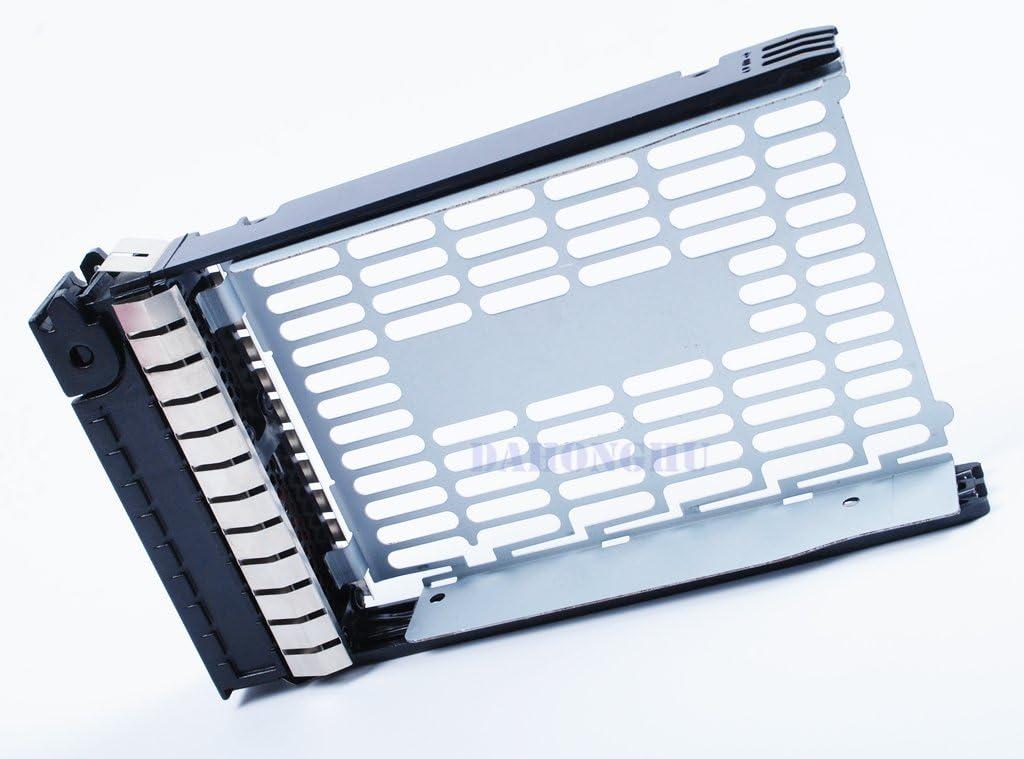 2-Pack 373211-001 3.5 SATA SAS Hard Drive Tray Caddy for HP Compaq ProLiant ML350 G4p ML350 G5 G6 ML370 G5 DL 180 G6
