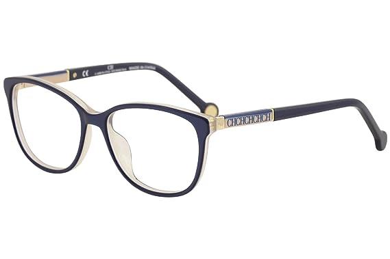 Amazon.com: Carolina Herrera Designer Eyeglasses VHE734K-09MF in ...