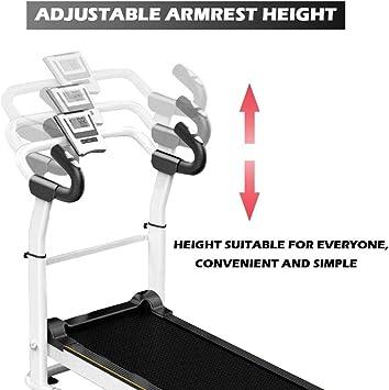 Treadmill Folding Manual Working Machine Cardio Fitness Exercise Incline Home Running Machine