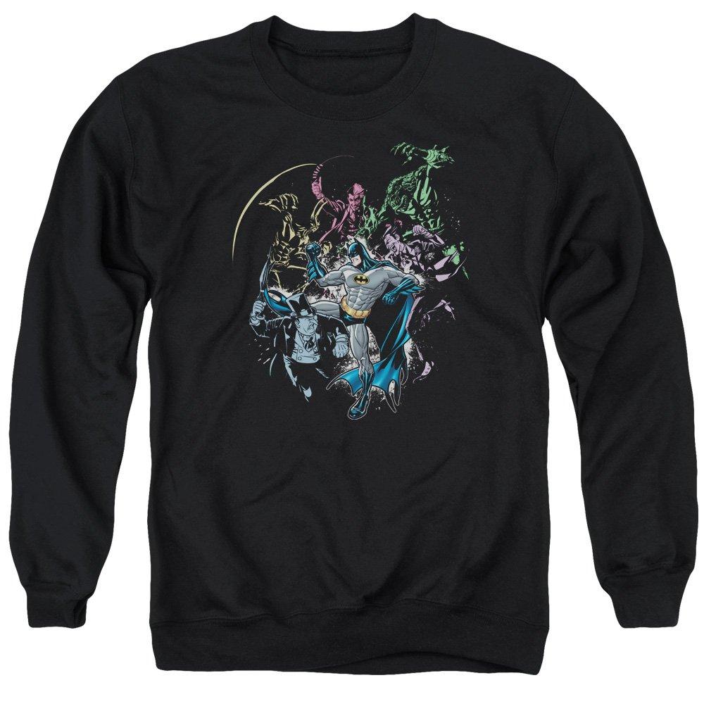 MMM Merchandising Batman Mens Surrounded Sweater