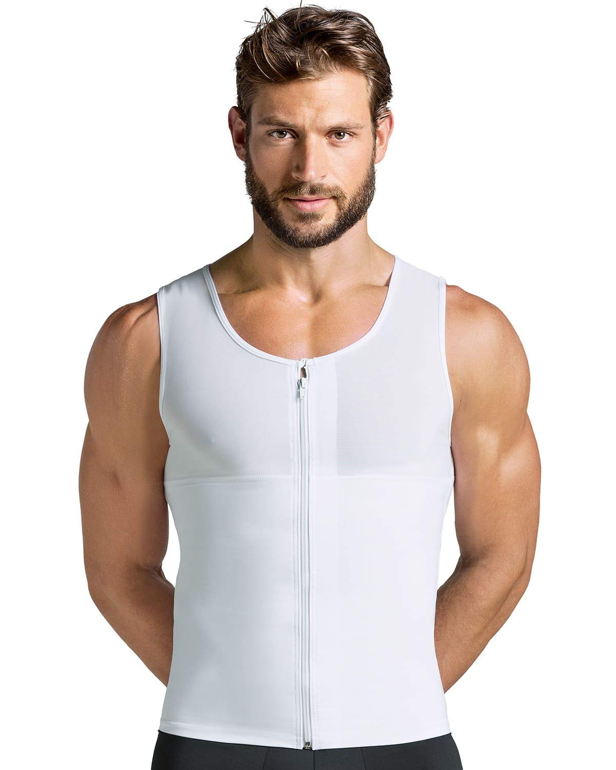 Leo Men's Abs Slimming Body Shaper with Back Support Leonisa 035000