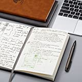 Unruled/Blank/Plain/Unlined Leather Notebook