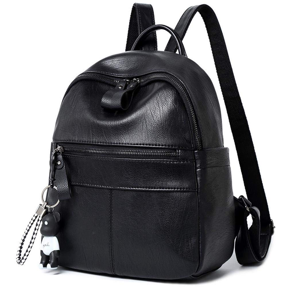 Ambiguity Ladies Backpacks Travel,Fashion Backpack Soft Leather Pu Leisure Students Backpacks 29x12x26cm