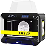 QIDI TECH 3D Printer, Large Size X-Plus Intelligent Industrial Grade 3D Printing with Nylon, Carbon Fiber, PC,High…