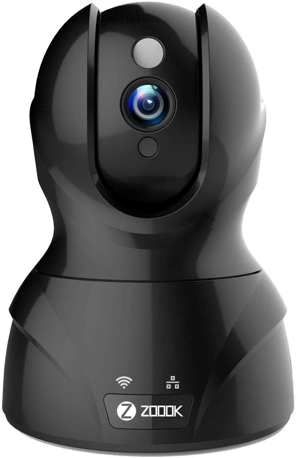 Zoook Eagle Cam 2MP (1920x1080P) Wi-Fi Wireless IP Home