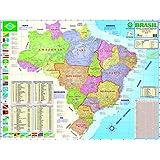 MAPA DO BRASIL – POLÍTICO E RODOVIÁRIO