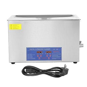 Limpiador por ultrasonidos, 30 l, digital, limpieza por ...