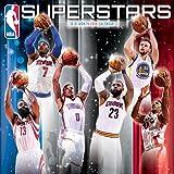 NBA Superstars 2018 Wall Calendar