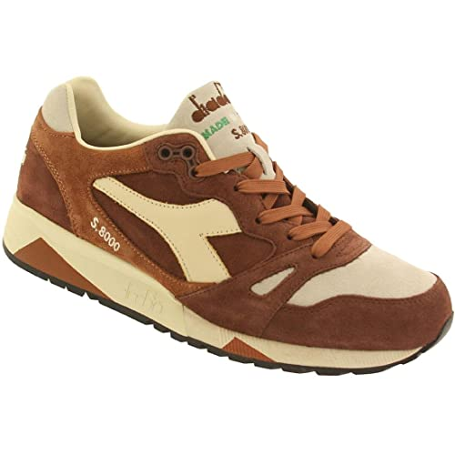 Zapatillas de deporte para hombre Diadora S8000 S ITA braun / beige Talla:10.5 UK - 45 EU: Amazon.es: Deportes y aire libre