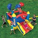 Versatile, Super Fun Durable Banzai Bop 'N Slide Bounce with...