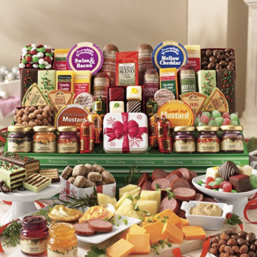 43 Holiday Favorites from The Swiss Colony (Holiday Gift Basket)