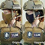 "OneTigris Small Tactical Mask 4.5"" Foldable Half"