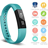 HolyHigh YG3 Fitness Tracker Band withno Heart Rate Monitor Smart Fitness Watch with Step Counter Calories Burned Sleep Monitor Facebook Whatsapp Call Alarm Notification