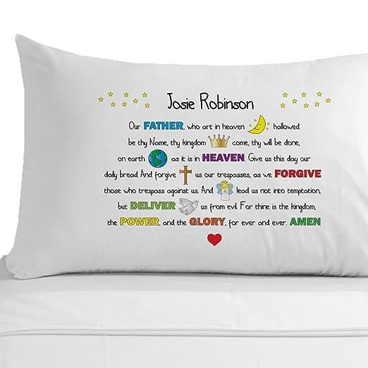 Flipmycover oración del Padre Nuestro funda de almohada, 100 ...