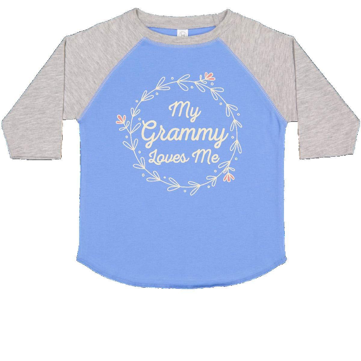 inktastic My Grammy Loves Me Toddler T-Shirt