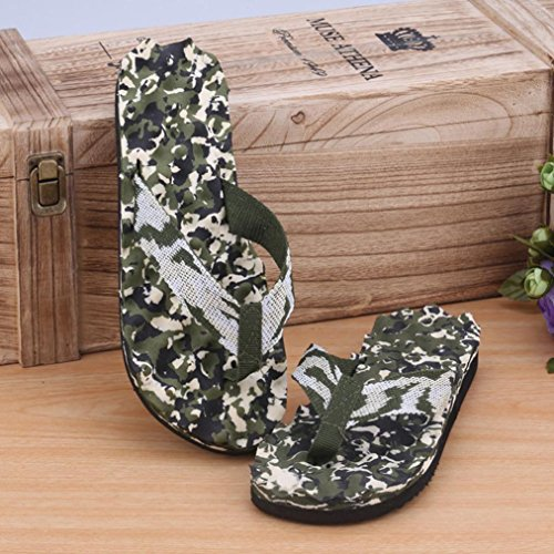 Chanclas Zapatos Para Zapatillas Verano Hombres Camuflaje Hombre Malloom Verde Sandalias aRYdwgxY