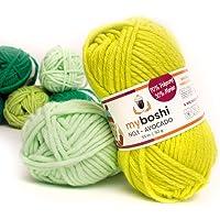 50g myboshi original No.1 Wolle LL 55 Meter Farbe: