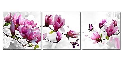 amazon com canvas print wall art paintings home decor magnolia