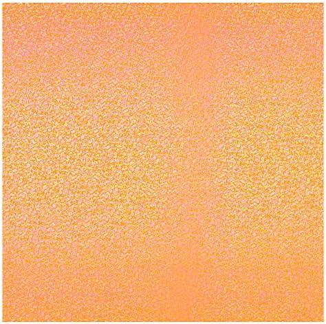 ラジカルアート コンサート応援用フィルムシート スパークル 30cm角 蛍光オレンジ