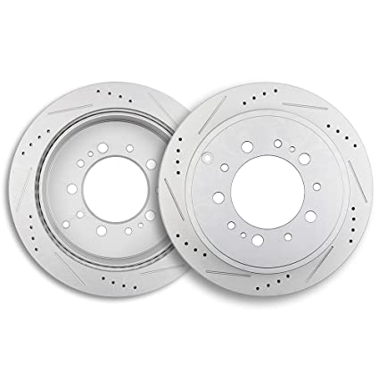 Brake Rotors,ECCPP 2pcs Rear Brake Discs Rotors Brakes Kits fit for 2008-2018