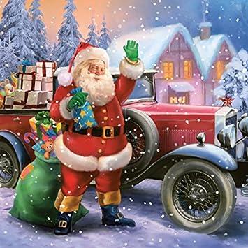 Serviette Napkins 33x33cm Serviettentechnik Weihnachten