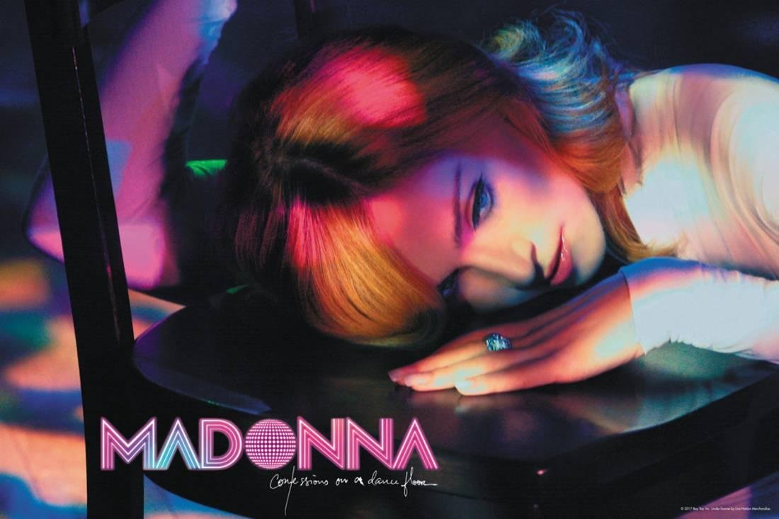 Madonna - Conversations on a Dance Floor Laminated Poster 36 x 24 in