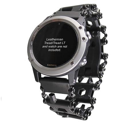 BestTechTool watch adapter compatible with LEATHERMAN TREAD - BTT adapter (compatible with Garmin Fenix5X-Fenix 3 (see description), Black, ...