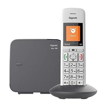 Gigaset E370 Schnurlostelefon für Senioren Telefon mit großen Tasten und SOS Funktion einfache Bedienung extra großes Farbdisplay einfache