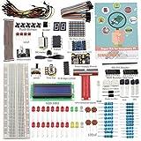 SunFounder proyecto Super Kit de principiantes para Raspberry Pi 3, 2 y modelo B + w/40-pin GPIO placa de, GPIO Cable, H-Bridge L293D, ADXL335, Motor DC, 7-de diámetro, pantalla de matriz de - Includin G 73 página instrucciones libro