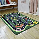 Carpet Rug Living Room Bedroom Floor Blanket Baby Kids Easy Care And Clean,hand Or Gentle Machine Washable Play Mat 100x150cm