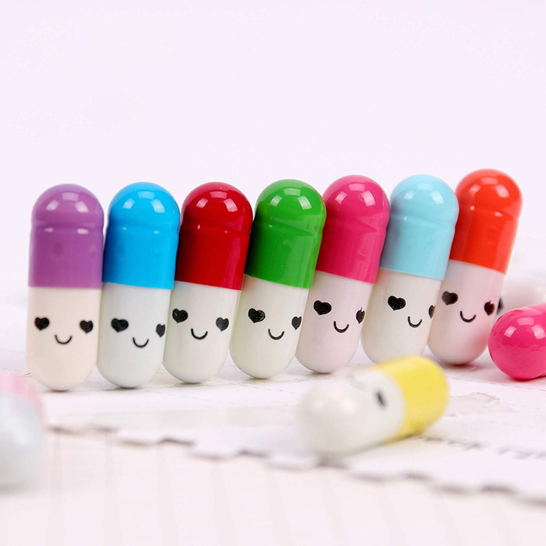 200Pcs Capsule Messaggio Capsule Letters Capsula Messaggi Messaggio di Una Carta Della Capsula Capsula Dellamicizia Half Pill in Random Color