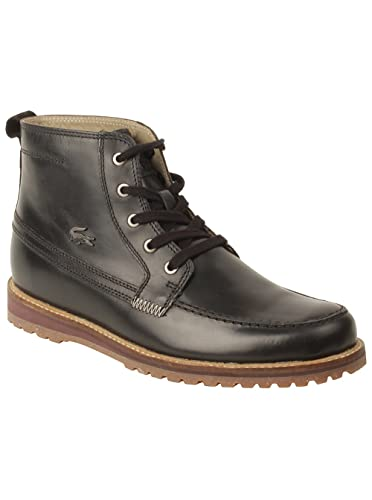 42f99dcc3a5bbc Lacoste Mens Marceau 5 Boots In Black 9 (Adult)  Amazon.co.uk  Shoes ...