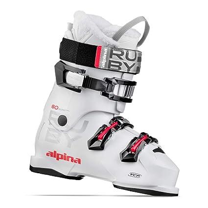 bf977fcd0d4a Amazon.com   Alpina Ruby 60 White Ski Boots   Sports   Outdoors