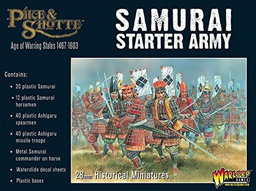 Pike & Shotte Warlord Games, Samurai Starter Army from Pike & Shotte