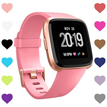 Amazon.com: CreateGreat correas compatibles con Fitbit Versa ...