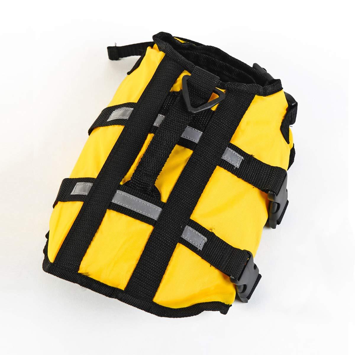 PETCUTE Gilet de Sauvetage Pour Chiens/Veste de Flottaison Pour Chiens Gilet avec poignée supérieure et sangles réfléchissantes/Veste Lifesaver pour chien