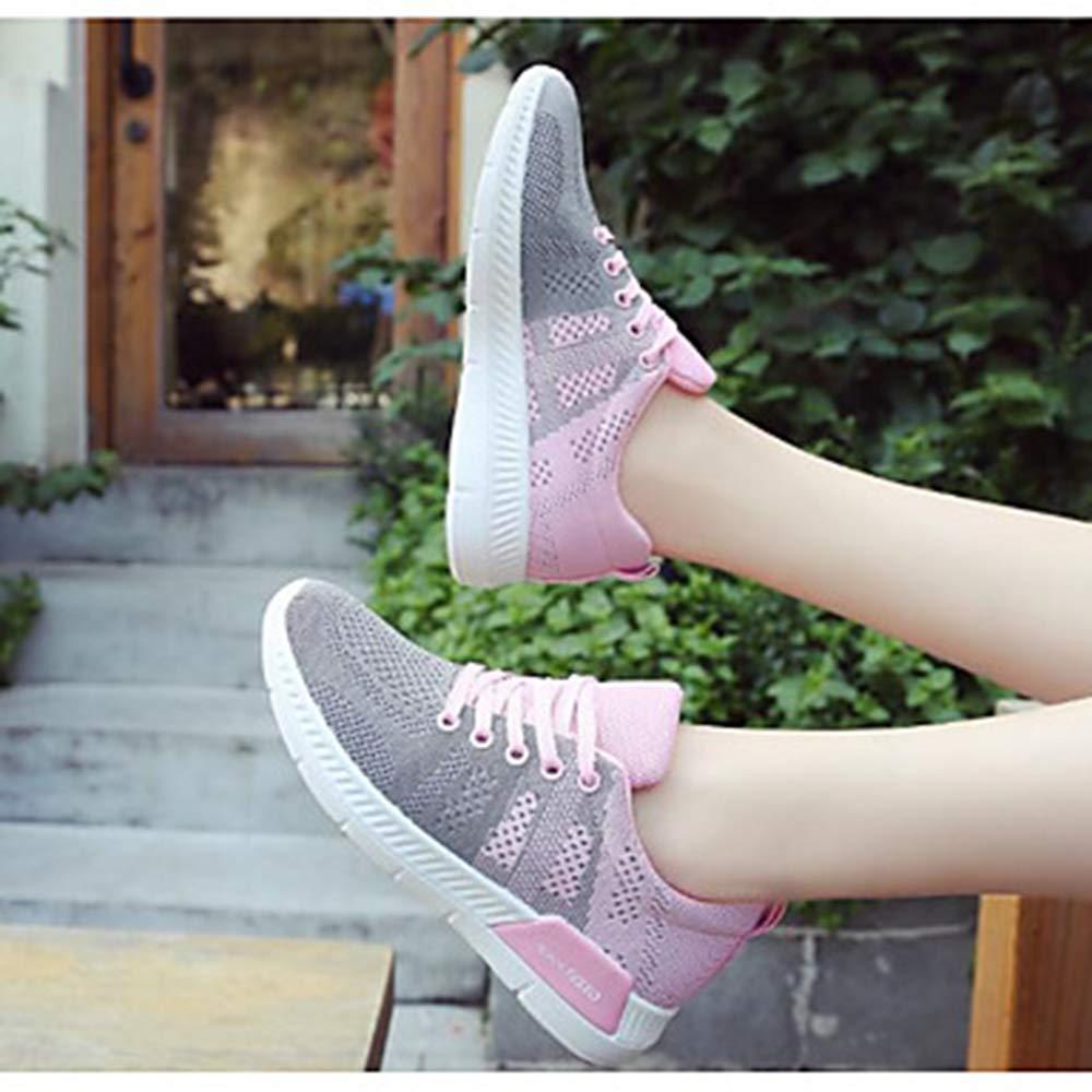 TTSHOES Per Donna Scarpe Tulle Primavera/Autunno Primavera/Autunno Primavera/Autunno Comoda Sneakers Piatto Nero/Grigio / Blu,Gray,US8.5/EU39/UK6.5/CN40  - 715f89