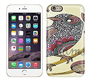 Best Power(Tm) HD Colorful Painted Watercolor Anais The Bird Photo Hard Phone Case For Iphone 6